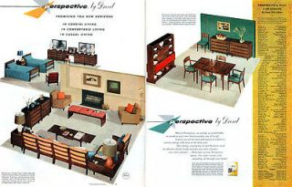 Drexel Furniture PERSPECTIVE Milo Baughman LIVING ROOM Dining BEDROOM