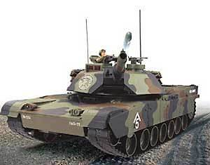 NEW IN BOX Hobby Engine 811A RC 1/16 M1A1 Abrams TANK 26.995 MHz