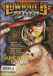 Lowrider Arte Magazine Feb/Mar 2008   Gregg Stone Miss Lucky Chicano