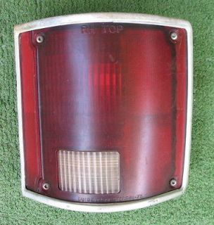 1974   1987 Chevrolet Chevy Truck RH Tail Light With Lights From 1976