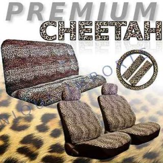 cheetah seat covers in Seat Covers