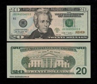 UNITED STATES USA $20 DOLLARS 2009 UNC banknote, P new   AMERICA