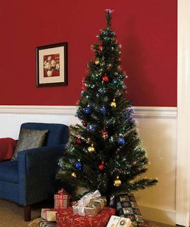 fiber optic christmas tree in Collectibles
