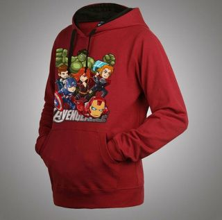 The Avengers Assemble Iron Man Captain America Thor Black Widow Hoodie