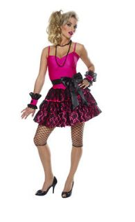 80s Party Girl Adult Womens Halloween Costume