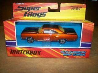 Matchbox Super Kings 1970 Plymouth Roadrunner