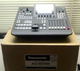 Panasonic AG MX70 Professional Digital Audio Video Switcher Mixer