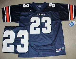 AUBURN UNIVERSITY TEAM ISSUE FOOTBALL JERSEY #23 BY RUSSELL ATHLETIC
