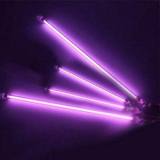 Purple CCFL Undercar Lamps Car Interior Neon Kits Lights US Delivery