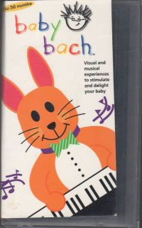 BABY BACH BABY EINSTEINS VHS VIDEO