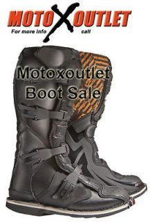 Kids Youth Dirt bike Boots Mx Motocross Motorcycle Boots 6