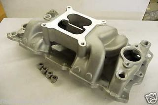 SBC 350 383 HIGH RPM AIR GAP ALUMINUM INTAKE MANIFOLD