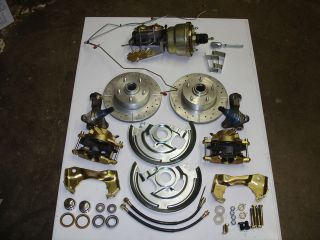 1968 1972 chevelle front disc brake conversion gto 7 inch booster