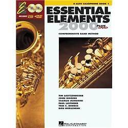 Hal Leonard Essential Elements 2000 Alto Saxophone Book 1 with CD ROM