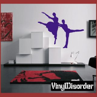 Dance AL 059 Sports Vinyl Decal Car or Wall Sticker Mural Large
