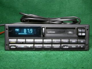 08 11 FORD F250 FACTORY AUX INPUT & SATELLITE RADIO