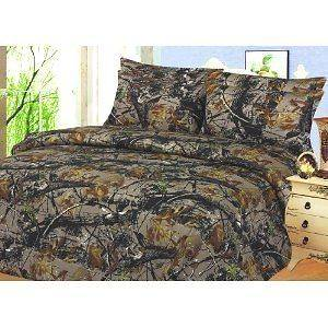 Camo Hunter Camouflage PINK Woods 6 Pc. Sheet Set for Full Size Bed