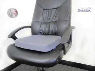 Layer Memory Foam Comfort Seat Cushion Pad for Office Home Car Chair
