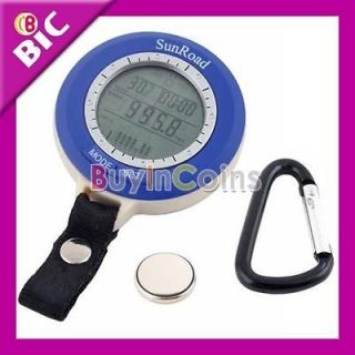New Multi Temp Digital LED Fishing Barometer Altimeter