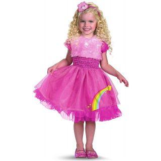 Cheer Bear Care Bears Toddler Baby Infant Girls Pink Halloween Costume