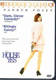 HOUSE OF YES RARE DVD Parker Posey Josh Hamilton Tori Spelling Jackie