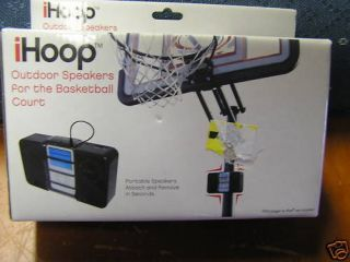 NIB iHOOP Outdoor Speakers for basketball Court