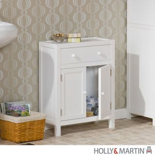 audrey white deluxe bathroom towel rack storage cabinet