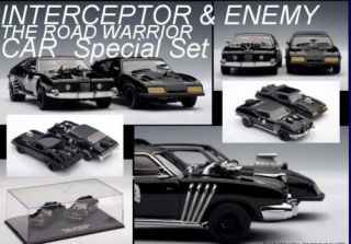AUTOart Mad Max 2 Interceptor & Enemy Road Warrior Car
