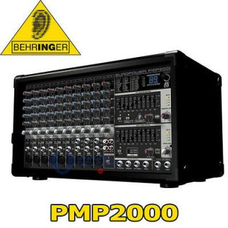 BEHRINGER PMP2000 PMP 2000 Powered Mixer + Amplifier FREE NEXT DAY