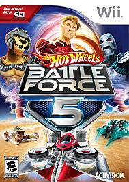 Hot Wheels Battle Force 5 Nintendo Wii Video Game