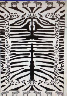 zebra beach towel in Home & Garden