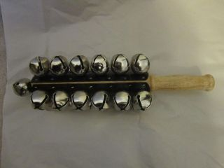 Percussion Hand Bell with 25 Bells Possibly Adams?? Christmas