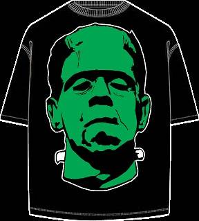 Frankenstein T Shirt (Boris Karloff, ALL SIZES AVL)