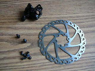 Rear Mechanical Mountain Bike Bicycle Disc Brake 160mm Rotor Mtn Bike