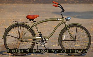 General Deluxe mans 26 single 1 speed Beach Cruiser Bike Bicycle
