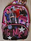 BIG TIME RUSH 16 *Listen to your Heart* Backpack School Book Bag