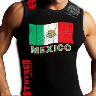 Flag Crest Muay Thai Muscle Stryker Sleeveless Shirt Top UFC MMA