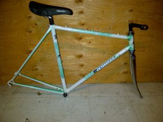 DESMARAIS VINTAGE ROAD BIKE FRAME WITH NICE PARTS NICE PAINT