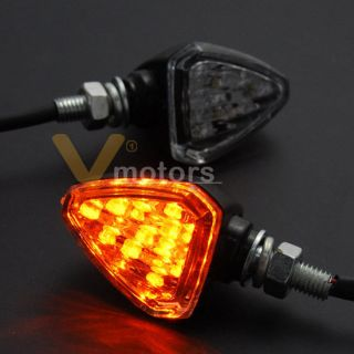 Lens LED Turn Signal Light Blinker Racing Sport Bike 8mm (Fits Ninja