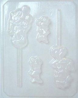 MICKEY & MINNIE MOUSE + BS CHOCOLATE CANDY MOLD MOLDS