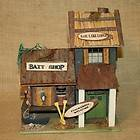 Birdhouse Rustic Bait Shop Bass Lodge Bird House Country Garden Yard