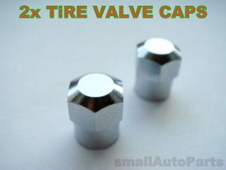 silver Tire/Wheel stem VALVE CAPS COVERS for Motorcycle/Chopper/Bike