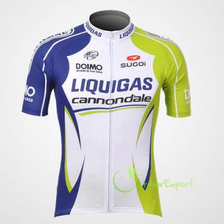 2012 Team Sports Bike Cycling Bicycle Jersey Short Sleeves Jacket