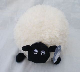 Lovely NICI White Shaun The Sheep Stuffed Animal 40 CM