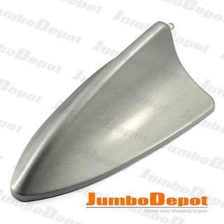 BLACK SHARK FIN STYLE ROOF TOP MOUNT AERIAL ANTENNA BASE MAST DECOR