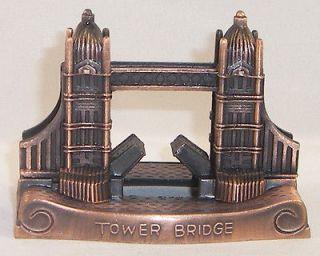 Souvenir Metal Building Big Ben Clock Tower Parliament London England