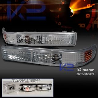 1998 2004 CHEVY S10 BLAZER CHROME BUMPER PARKING LIGHTS