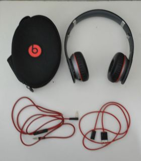 USED ONCE ONLY! MONSTER BEATS WIRELESS by Dr Dre BLACK bluetooth