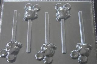 MICKEY MOUSE FACE SIDE Chocolate Candy Mold