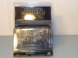 STAR WARS MASTER REPLICAS HAN SOLO BLASTER GOLD TIP EXCLUSIVE .33